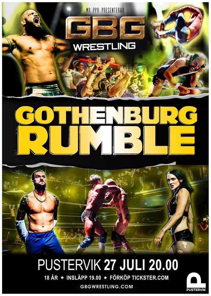 Gothenburg rumble GBG Wrestling